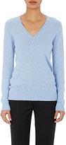 Barneys New York Women's Cashmere V-Neck Sweater-BLUE