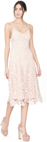 Alice + Olivia Nude Pink Naomi Dress