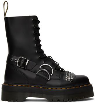 Dr. Martens Black Stud Jadon Hi Boots