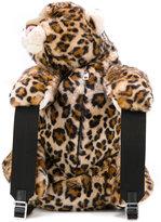 Dolce & Gabbana leopard shaped backpack - women - Calf Leather/Modacrylic/Nylon/Polypropylene - One Size