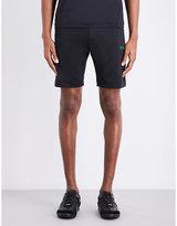 HUGO BOSS Reflective sport-jersey shorts