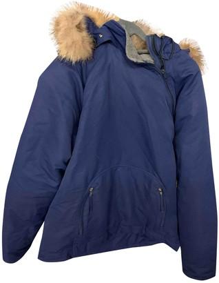 Woolrich Blue Cotton Jackets