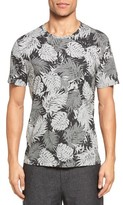 Vince Men's Heather Leaf Print T-Shirt