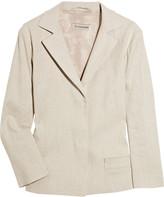 Jil Sander Zalves linen-blend jacket