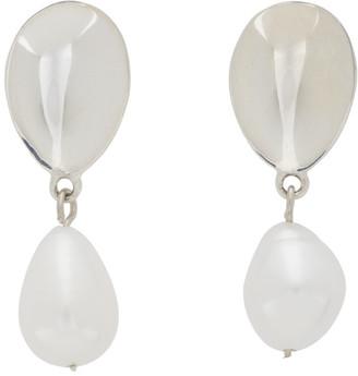 Sophie Buhai Silver Pearl Everyday Drop Earrings