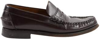 Sebago Brown Leather Flats