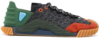 Dolce & Gabbana Colour-Block Lace-Up Trainers