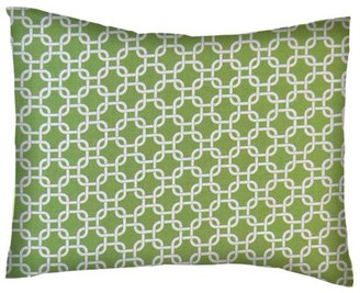 Sheetworld Twin Pillow Case - Percale Pillow Case - Citrus Links