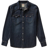 Levi's Barstow Solid Snap-Front Denim Shirt