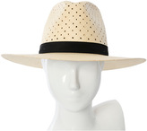 Janessa Leone Claire Tall Crown Panama Hat