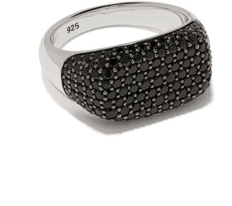 Tom Wood Michael studded detail ring