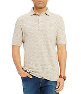 Daniel Cremieux Sonoran Trails Slub Stripe Short-Sleeve Polo Shirt