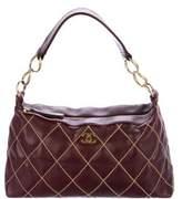 Chanel Surpique Leather Hobo