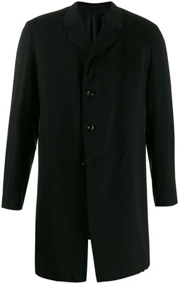 A.N.G.E.L.O. Vintage Cult 1910's Notched Straight Coat