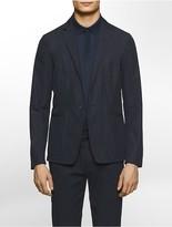 Calvin Klein Platinum Slim Fit Single-Breast Poplin Jacket