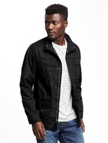Old Navy Lightweight Twill Military Jacket for Men