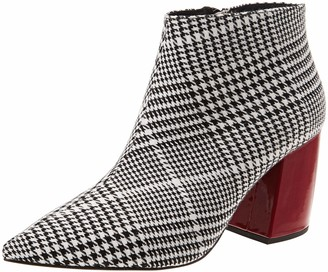 Jeffrey Campbell Women's 4-Total Fabric Ankle Boots
