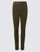 Classic Cotton Rich Straight Leg Corduroy Trousers