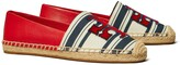 Tory Burch INES STRIPED FIL COUPE ESPADRILLE