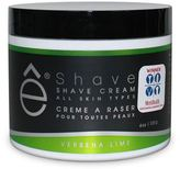 eShave Verbena Lime Shave Cream for All Skin Types