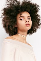 Urban Outfitters Lex Chain Tie Choker Necklace