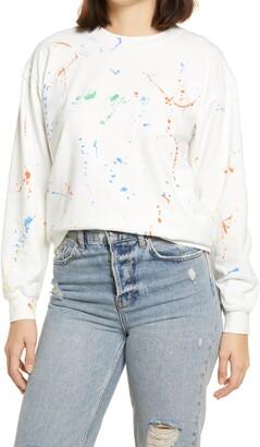 Sub Urban Riot Splatter Paint Sweatshirt