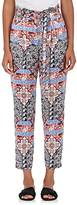 L'Agence Women's Madaline Paisley Silk Pants