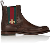 Gucci Men's Strand Leather Wingtip Chelsea Boots