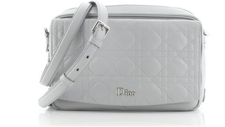 Christian Dior Stardust Camera Bag Cannage Quilt Lambskin Small
