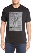 Robert Graham 'Plague Doctor' Graphic Crewneck T-Shirt