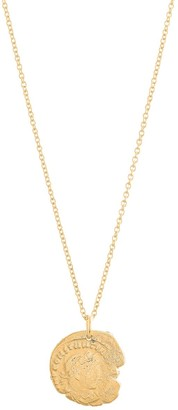 Deborah Blyth Constantine Gold Coin Necklace