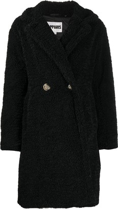 Apparis Anouck faux-shearling oversized coat