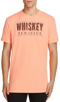 Kid Dangerous Whiskey Behavior Graphic Tee