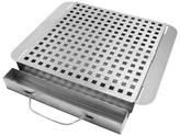Charcoal Companion Moistly Grilled® Smoking Platform Grill Topper