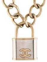Chanel CC Padlock Necklace