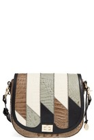 Brahmin Caspian Sonny Leather Crossbody Bag - Green