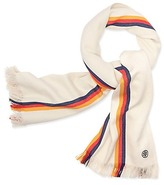 Tory Burch Multi-Stripe Oblong Scarf