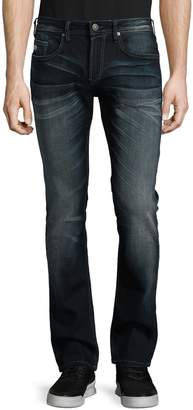 Buffalo David Bitton Whiskered Skinny Jeans