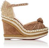 Christian Louboutin Women's Madcarina Wedge Espadrille Sandals