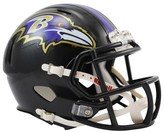 NFL Baltimore Ravens Riddell Speed Mini Helmet - Black