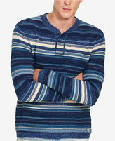 Denim & Supply Ralph Lauren Men's Striped Henley Sweater