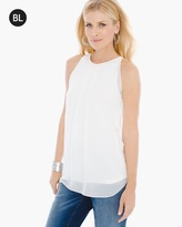 Chico's Layer Detail Tank