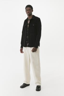 Dickies Black Fort Polk Corduroy Shirt - Black S at Urban Outfitters