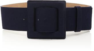 Carolina Herrera Oversized Linen Waist Belt