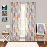 Crayola Stroke of Genius Rod Pocket 84-Inch Window Curtain Panel