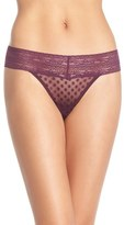 Free People Lace Trim Thong