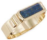 BCBGMAXAZRIA Blue Stone Cuff Bracelet