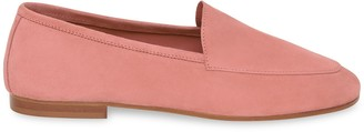 Mansur Gavriel Suede Sock Loafer - Blush