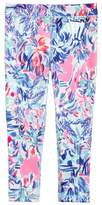 Lilly Pulitzer Girl's Upf 50+ Print Leggings