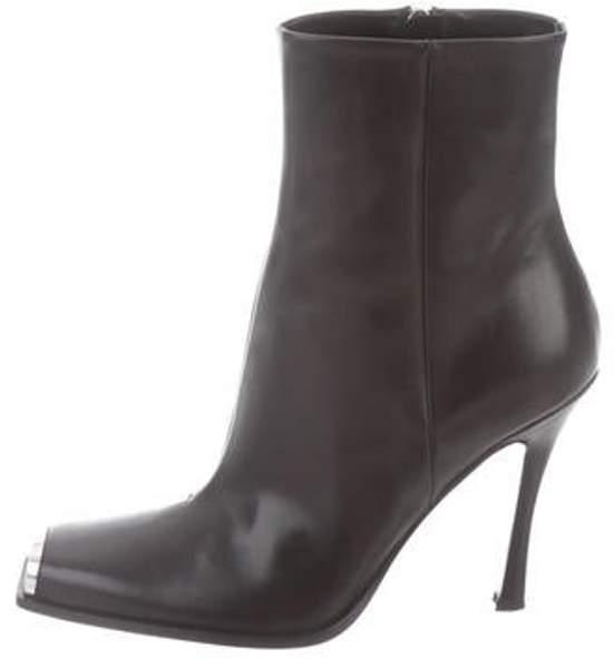 Calvin Klein Wilamiona Cap-Toe Boots Black Wilamiona Cap-Toe Boots